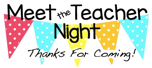 Can't wait to see you all at Meet the Teacher Night! Monday, August 5 from 4-6 p.m.