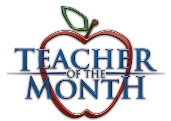 Teachers of the Month 2017-2018