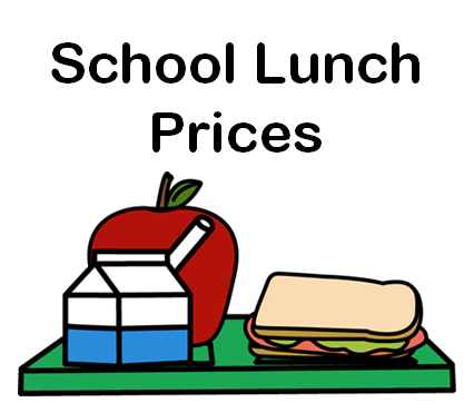 New Lunch Prices for the 2017-2018 School Year