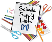 2019-2020 Supply Lists & Summer Reading