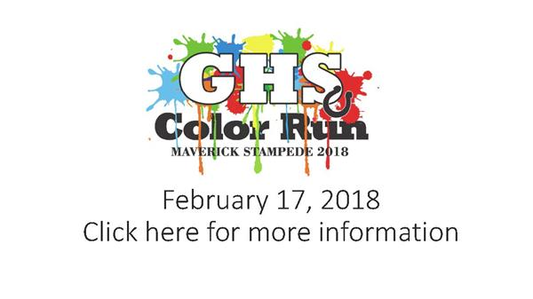 GHS Color Run 2018
