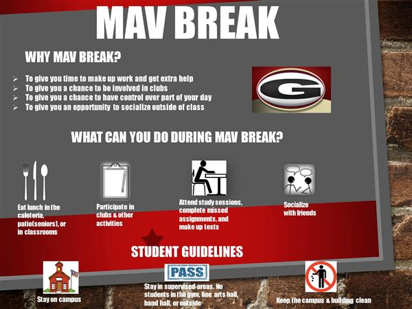 Mav Break Flyer