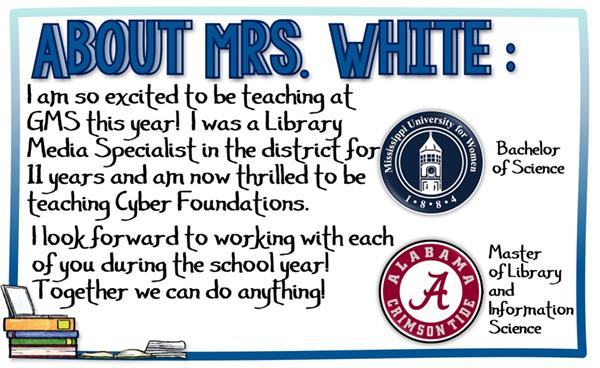 About Mrs. White
