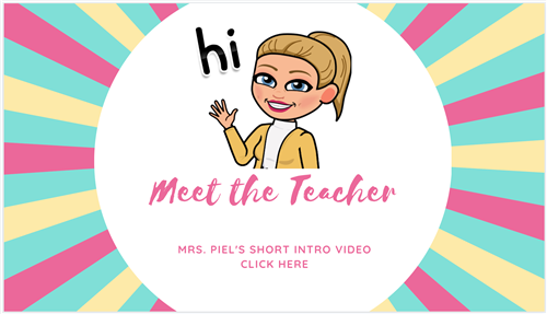 Meet the teacher video