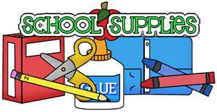 School Supply Lists for 2018-2019