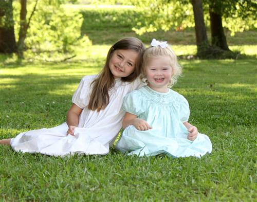 Adalyn (7) and Lillian (3)