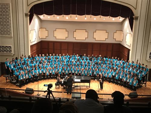 2019 Elementary Honor Choir