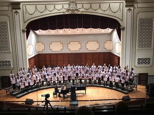 2019 Junior High Treble Honor Choir