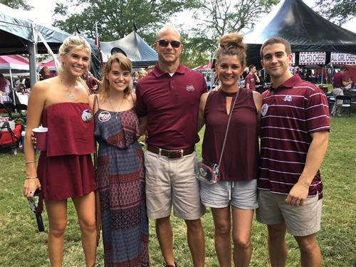 My family at Mississippi State!