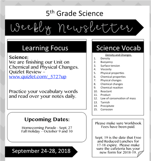 Rowland, Laura / Weekly Newsletters