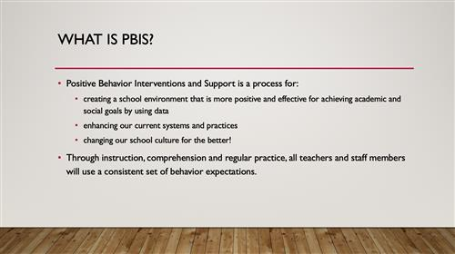 What is PBIS