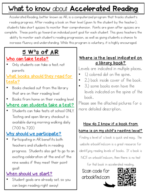 What is AR page 1
