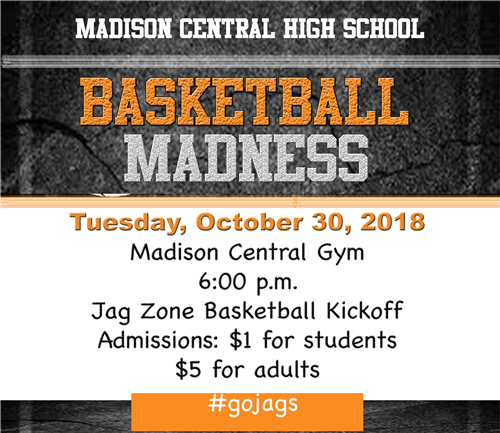 Click Here for Basketball Madness Flyer