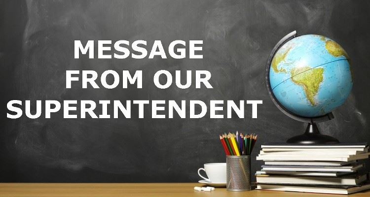 Video Message from Superintendent Seals