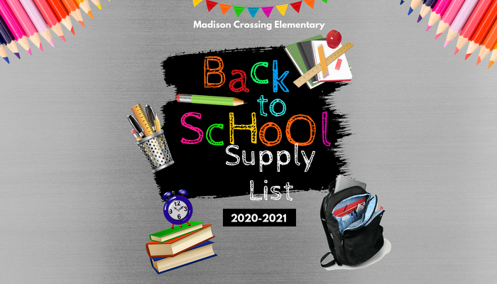 Back 2 School: Supply List and Summer Reading