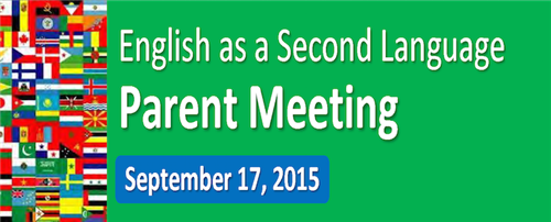 ELL Parent Meeting