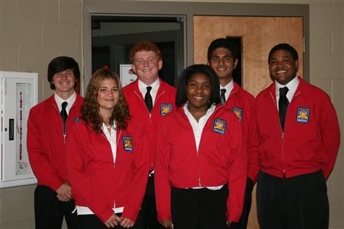 Skills USA officers for automotive