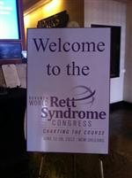 I attended the World Rett Syndrome Congress during the summer of 2012