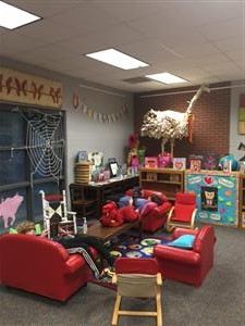 K,1, and 2 Reading Area